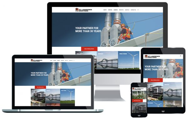 Launching of the New St. Lawrence Erectors Website
